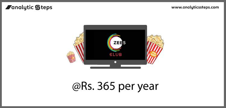 Zee5 introduces a new annual subscription plan at Rs 365 title banner