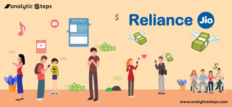 The rise of Reliance Jio amidst lockdown title banner