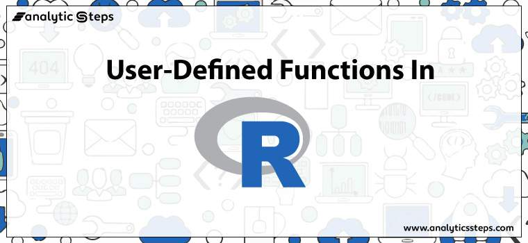 User-Defined Functions in R title banner