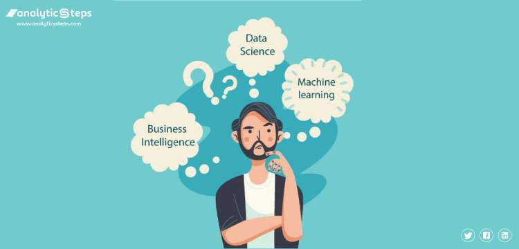 Detailed classification of Data Science, Machine Learning, and Business Intelligence title banner